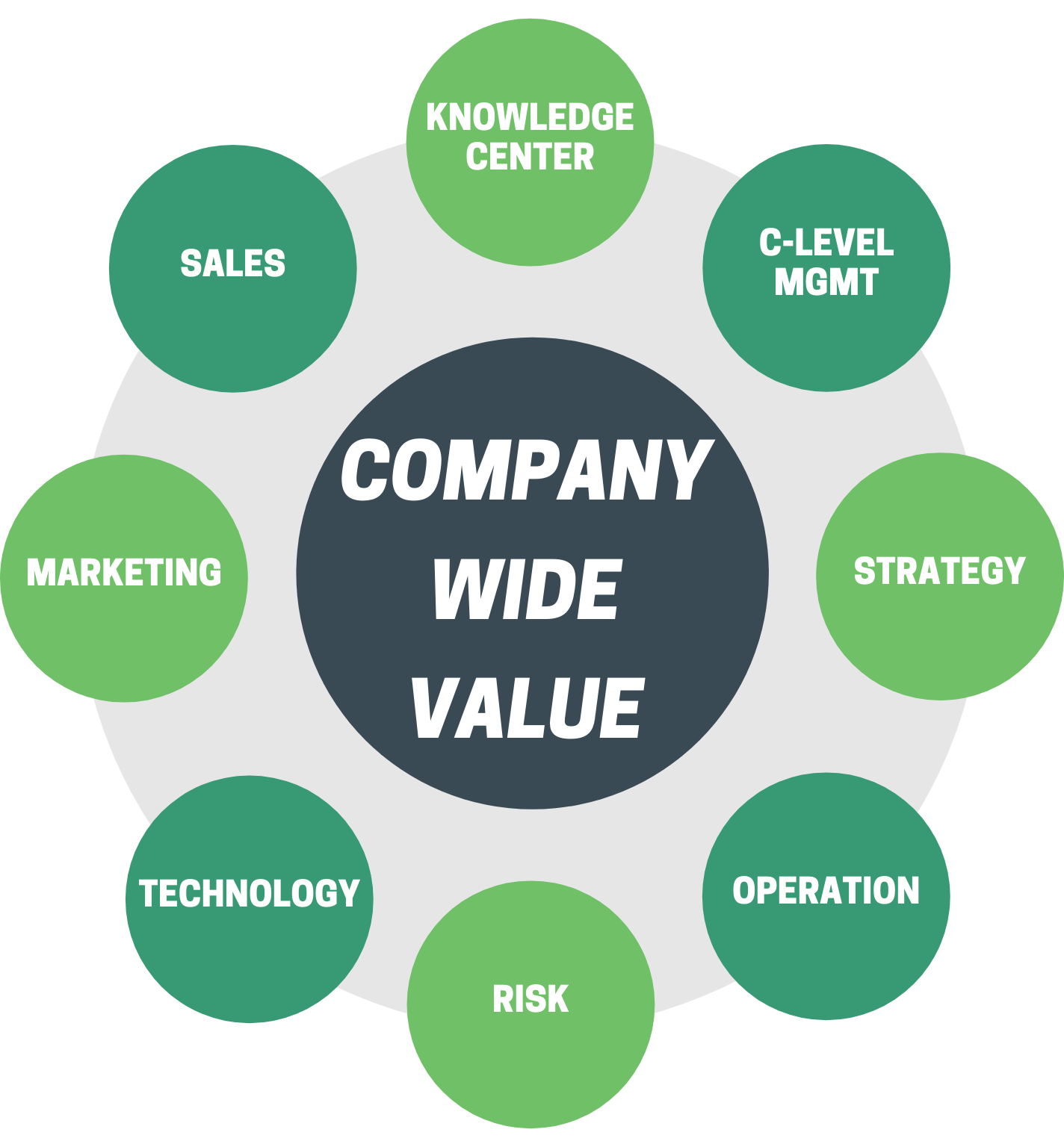 Company-wide Value Wheel